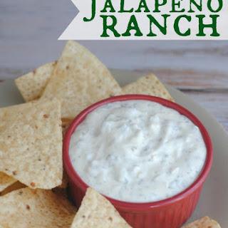 Creamy Jalepeno Ranch Dip.