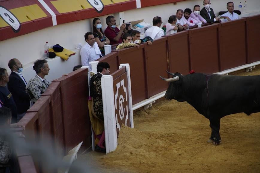 Asistentes a la corrida de toros.