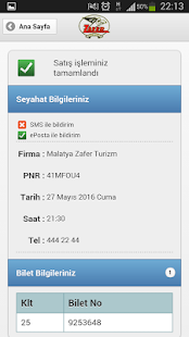 Malatya Zafer Turizm- screenshot thumbnail