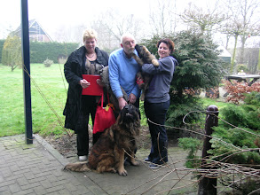 Photo: Chain(Sasja) met fam. Raven en tante Ayla (A nest)