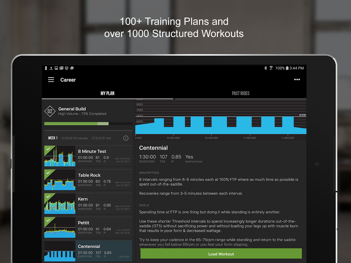 TrainerRoad- screenshot