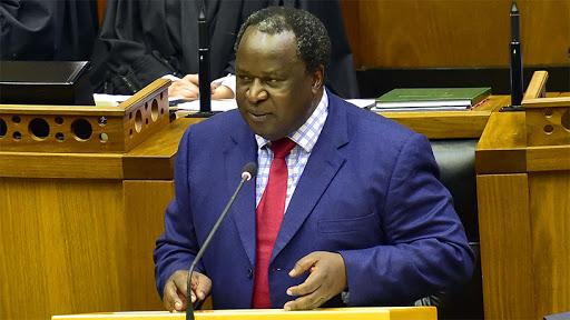 Finance minister Tito Mboweni.