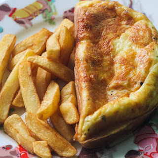 Super Cheesy Omelette.
