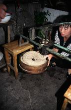Photo: 03540 土城子/食堂/ユウマイ押し出し麺作り