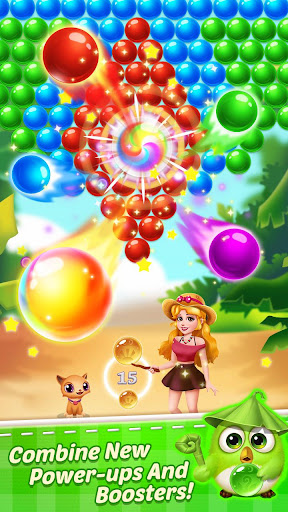 Bubble Shooter Pirate apktram screenshots 4