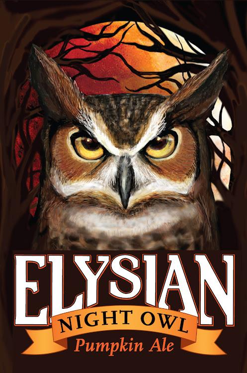 Logo of Elysian Night Owl Pumpkin Ale
