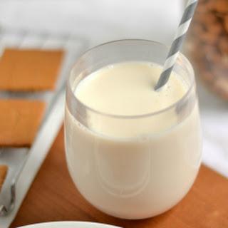 Vanilla Maple Almond Milk(Without a Blender!).