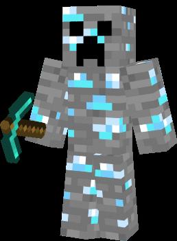 Diamond Creeper Nova Skin