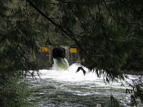Photo: Tunnel to Coquitlam lake