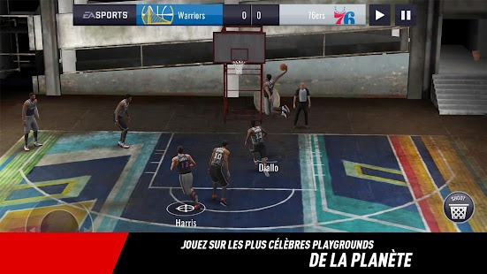 NBA LIVE Mobile Basket-ball Capture d'écran