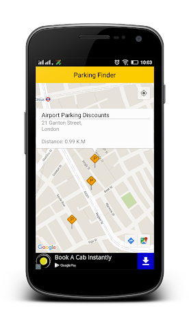 android Parking Finder Free Screenshot 1