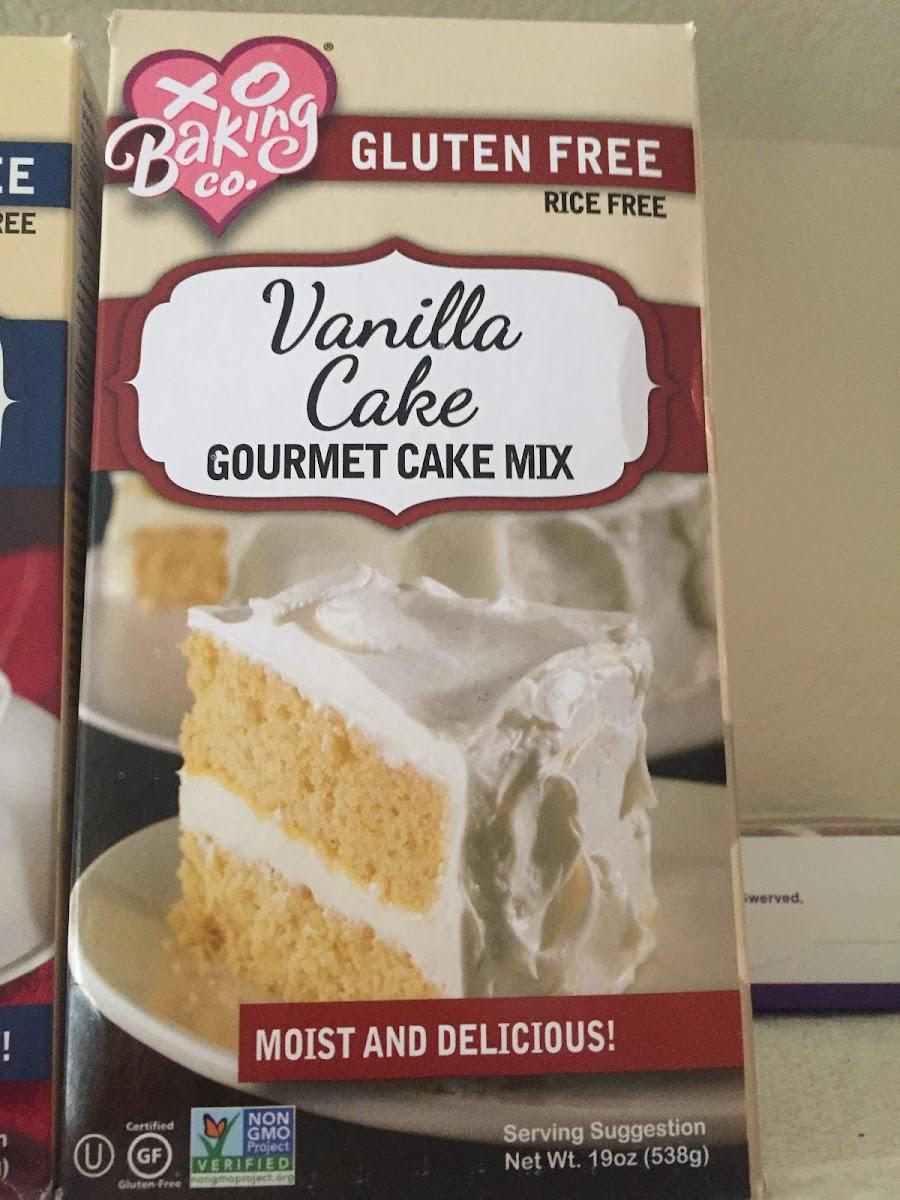 Vanilla Cake Gormet Cale Mix