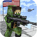 American Block Sniper Survival Game