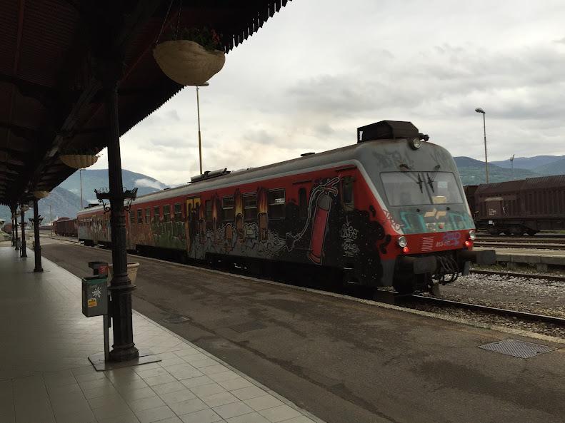ノヴァ・ゴリツァ 電車