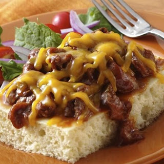 Barbecue Beef Cheese Melts