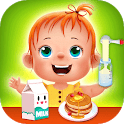 Baby care game for kids icon
