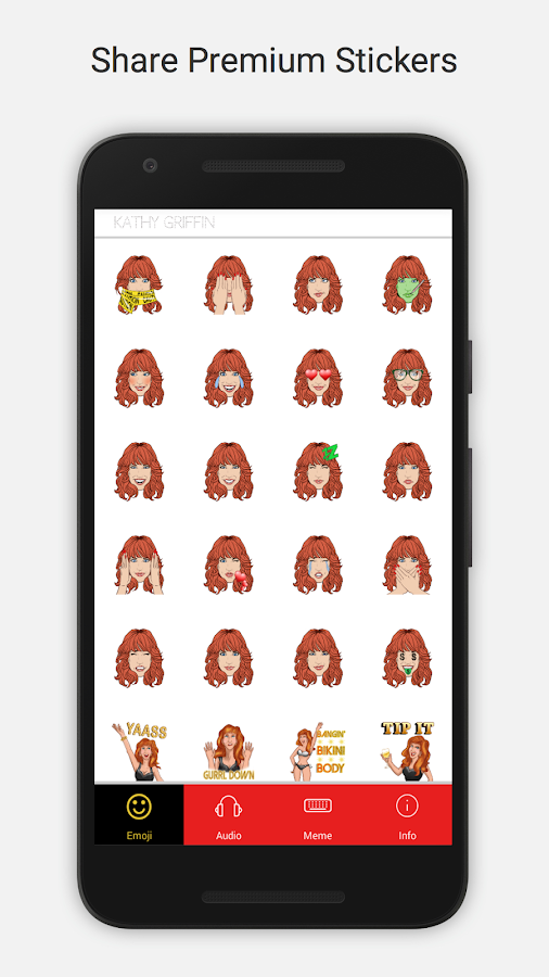 Kathymoji by Kathy Griffin- screenshot