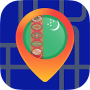🔎Maps of Turkmenistan: Maps Without Internet