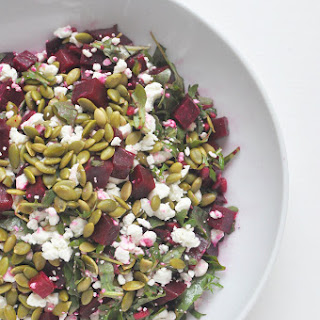 Roasted Beet Salad with Goat Cheese Recipe