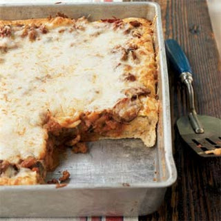 Sausage and Vegetable Deep-Dish Pizza