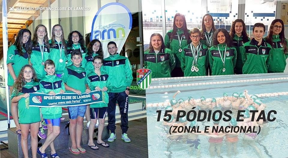 Sporting Clube de Lamego conquista 15 pódios e vários TAC's em Mirandela