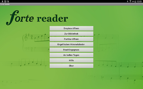 FORTE Reader- screenshot thumbnail