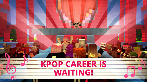 KPOP Craft:? Crafting & Building Music Game 2018 1.2 screenshots 12