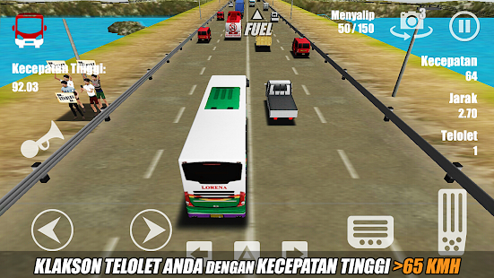 telolet bus driving 3D apk mod