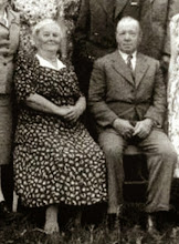 Photo: Ingvar S. Stenersen, John Stenersen's son and brother to Kristine, Emilie and Dina Stenersen who emigrated to USA.