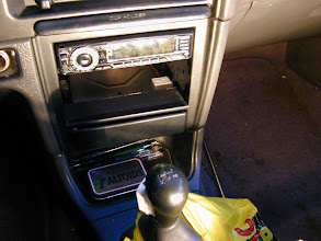 Photo: Hey look a Subaru dash with a giant hole in it! Certainly nothing odd here!