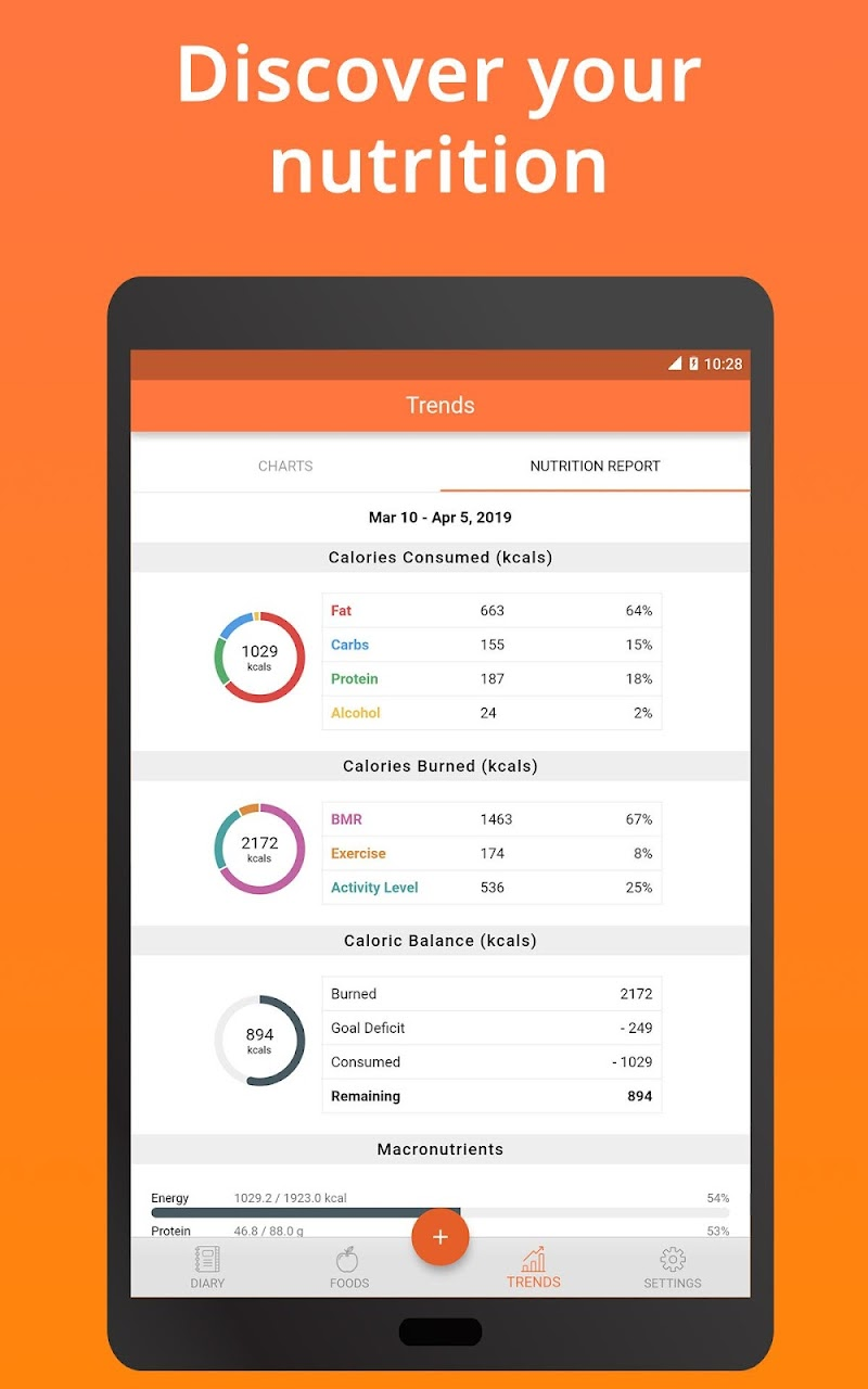 Cronometer – Nutrition Tracker (ad free) Screenshot 17