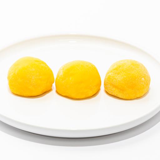 Mango Custard Mochi (3 pcs)