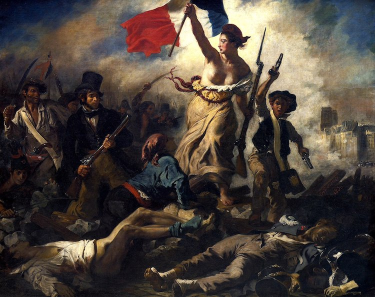 Liberty Leading the People by Delacroix