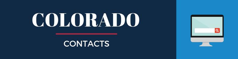 Colorado Sales Tax Contacts