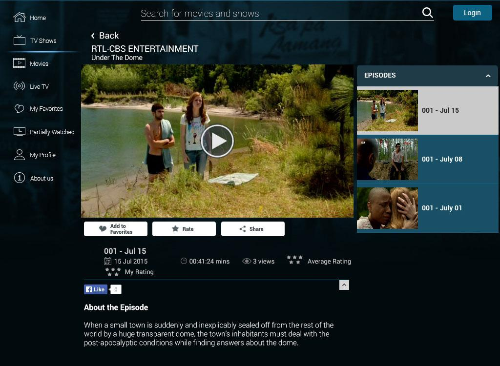 SKY On Demand- screenshot