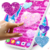 New glitter live wallpapers Icon
