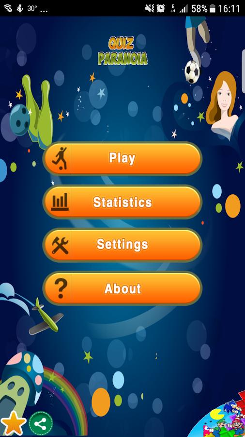 Quiz Paranoia - στιγμιότυπο οθόνης