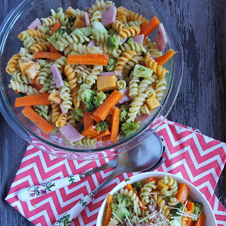 Garden Party Pasta Salad.