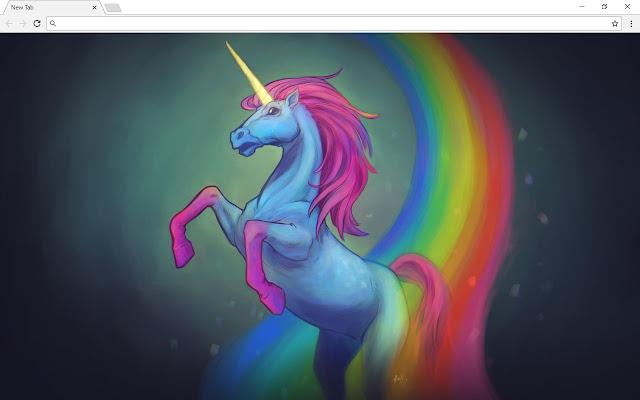 Unicorn New Tab