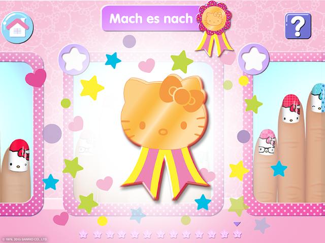 android Salon de manucure Hello Kitty Screenshot 4
