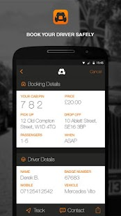 cabapp- screenshot thumbnail