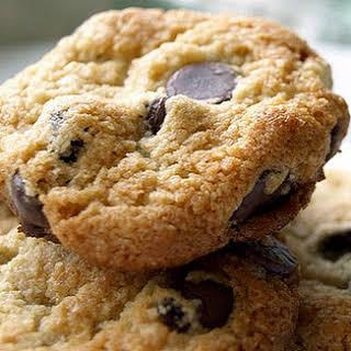Almond Flour Chocolate Chip Cookies.