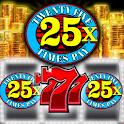 Neon Casino Slots classic free Slot Machine games icon
