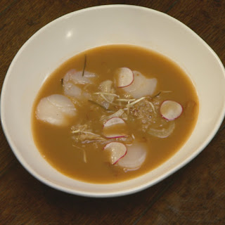 Seafood and Fennel Broth with Prawn and Scallops