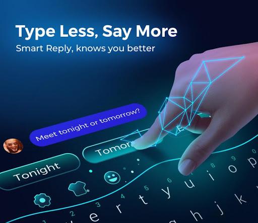 Cheetah Keyboard-Gif,Emoji Keyboard&3D Themes  screenshots 1