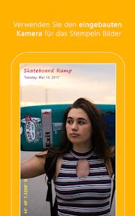 Auto Stamper: Zeitstempel Kamera für Fotos Screenshot