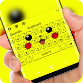 Yellow  Cute Pikachu Keyboard Mod