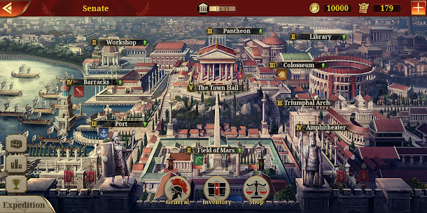 Great Conqueror: Rome Mod Apk 2.0.0 (Unlimited Medals) 7