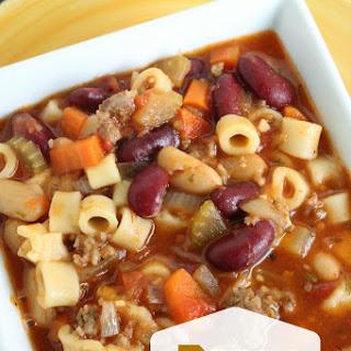 Pasta e Fagioli Soup - Copycat Olive Garden.
