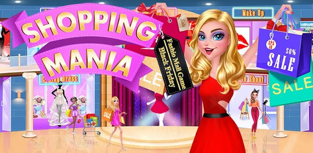 Mall Girl: Shopping Mania ❤ Dress Up & Makeup Game